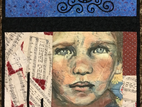 Working in a Series -  Paintings to Quilts