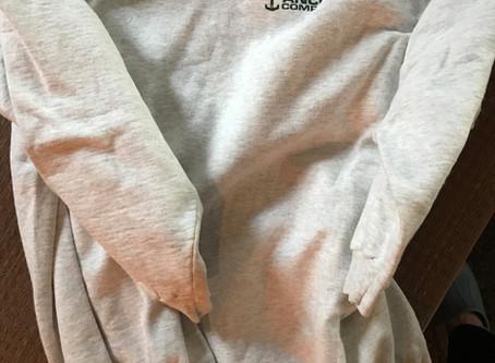 Recycled sweatshirt