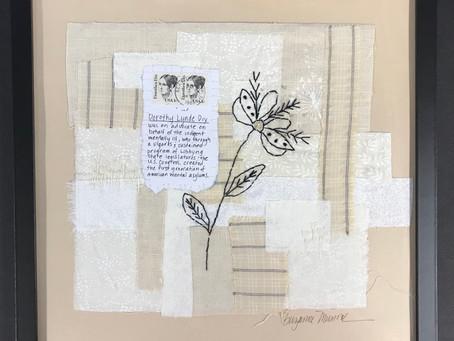 Postage Stamps & Stitch