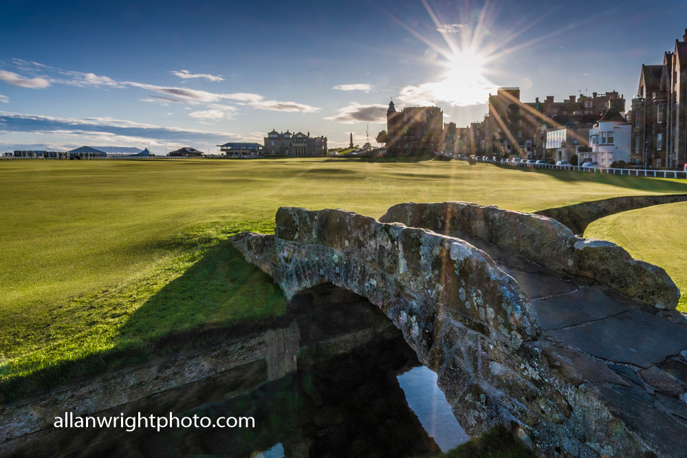 Campervan holidays St Andrews golf course