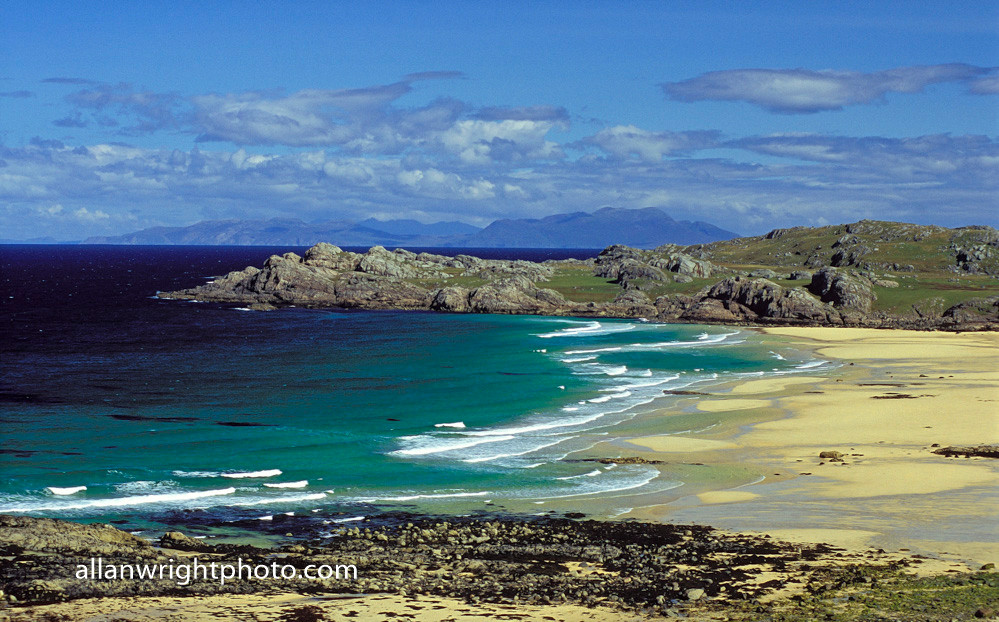 Campervan hire Isle of Coll