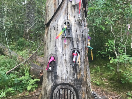 Doon Hill Fairy Trail - Aberfoyle