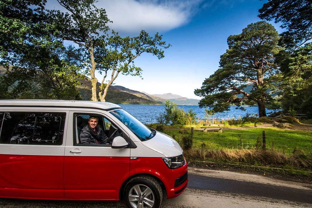 Campervan hire loch lomond