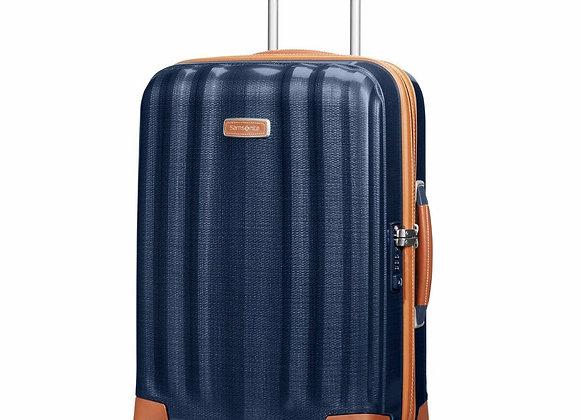 "Samsonite Lite-Cube 20"" Midnight Blue Luggage"