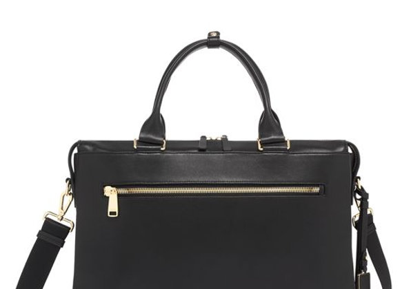 Voyageur Cameron Business Brief Leather