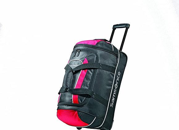 Samsonite Luggage Andante Wheeled Duffel Black/Red