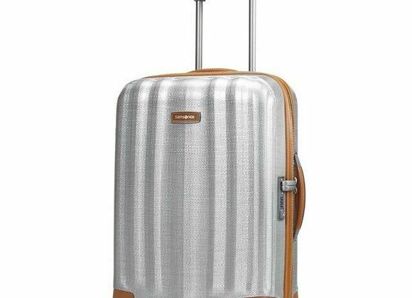 Samsonite Label Lite-Cube 20 Spinner Luggage Aluminum