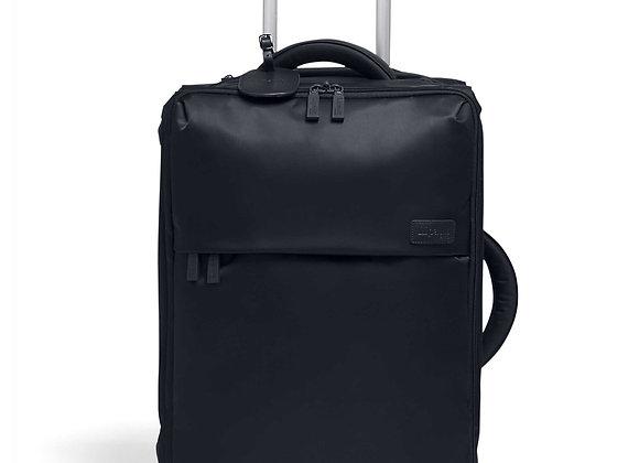 Lipault Pliable Foldable Wheeled Duffel Bag 29 Luggage Black