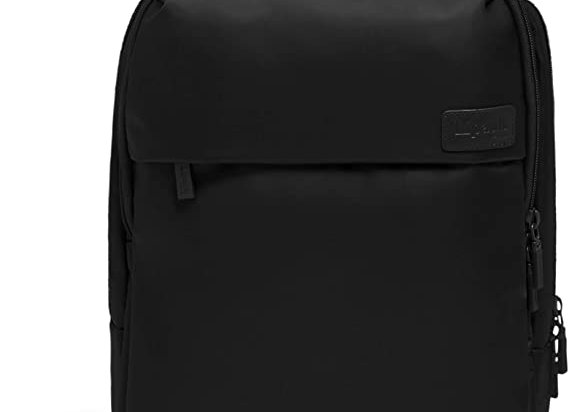 Lipault Plume Business Laptop Backpack Black