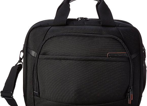 Samsonite Pro 4 DLX 2 Gusset PFT TSA Briefcase Black