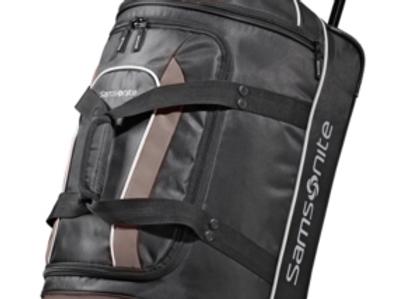 Samsonite 22 Wheeled Duffel Black/gray