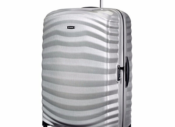 Samsonite Lite Shock 30 Silver Luggage