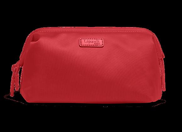 Lipault Toiletry Bag M Cherry Red