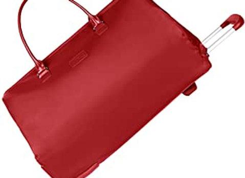 Lipault Foldable Wheeled Hand Luggage Weekend Bag