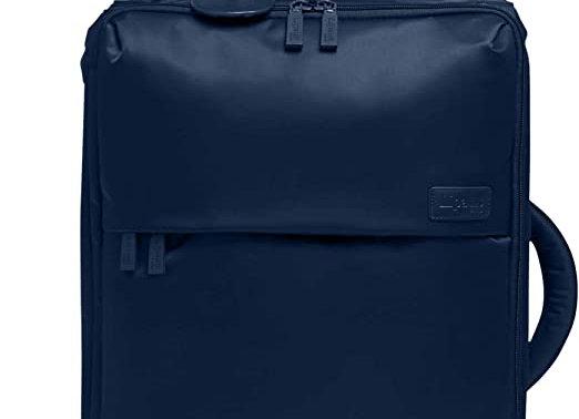 Lipault Foldable Upright 20 Bag Navy