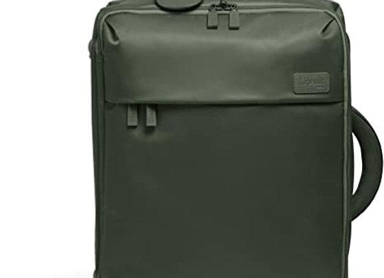 Lipault Spinner 55/20 Carry-On Bag Khaki