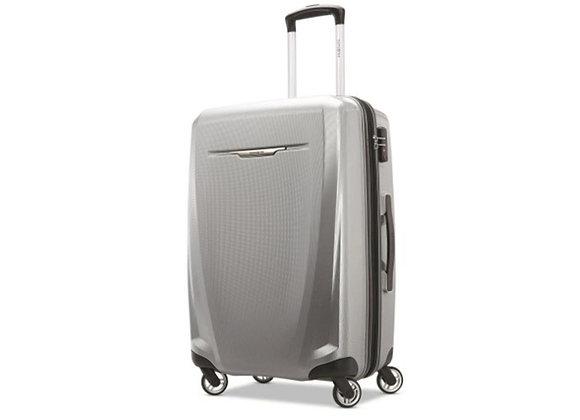 Samsonite Winfield 3 DLX Spinner 71/25 Luggage Silver