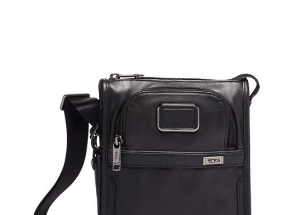 Alpha Pocket Bag Small Leather