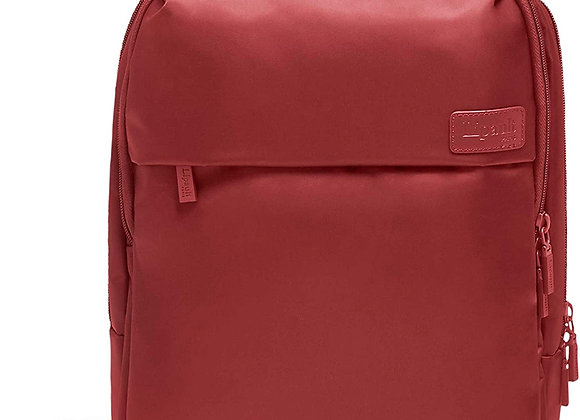 Lipault Plume Business Laptop Backpack Cherry Red