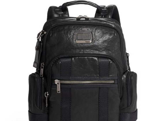 Nathan Expandable Backpack Leather Alpha 3