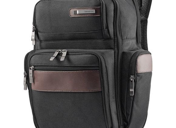 Samsonite Kombi 4 Square Backpack Black/Brown