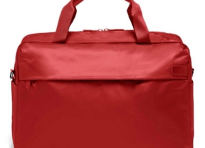 Lipault City Plume Duffle Bag in Cherry Red