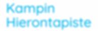 Kampin Hierontapiste Logo white.png