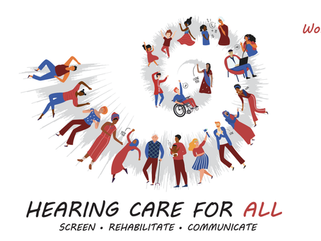 Hearing Care for All: Screen, Rehabilitate, Communicate