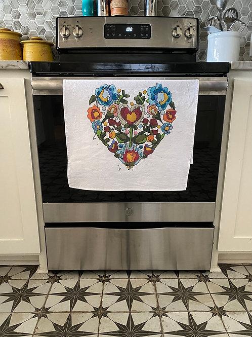 Homegrown Love Tea Towels