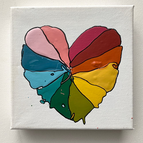 """Color Love, no. 2"" original art on canvas"