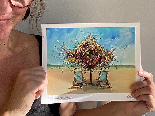 """Welcoming Winds"" fine art print"