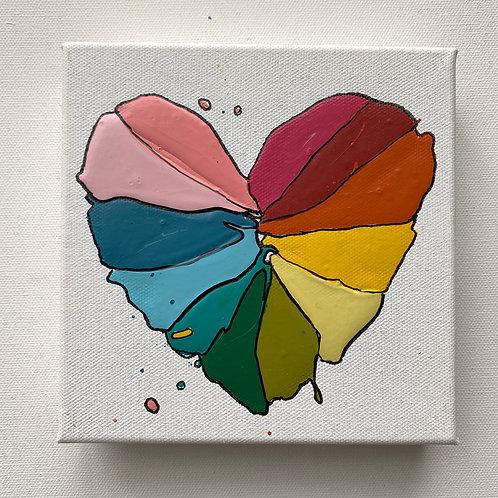 """""""Color Love, no.1"""", original art on canvas"""