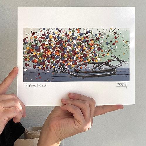 """""""Strong Heart"""" fine art print"""