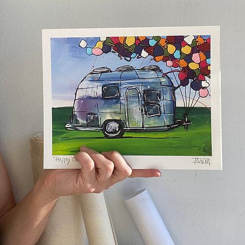 """""""Happy Camper"""" fine art print"""