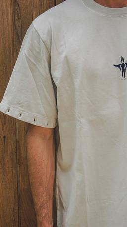 Dennis T-shirt Beige