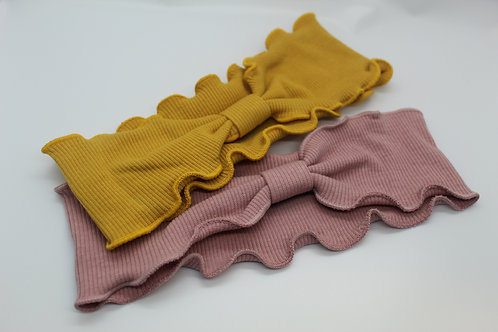 Toddler Ribbed Headwrap