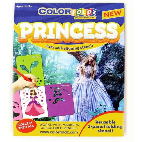 Princess Stencil Art