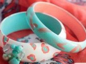 Wood Bangle Bracelets