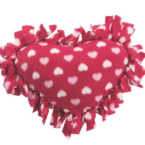 Heart Tie Pillow