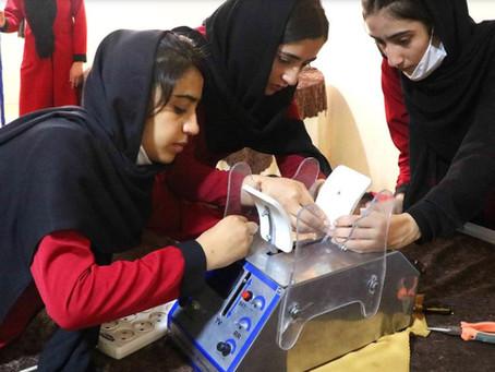 All-Girl Robotics Team from Afghanistan Debuts Low-Cost Ventilator for Coronavirus Patients