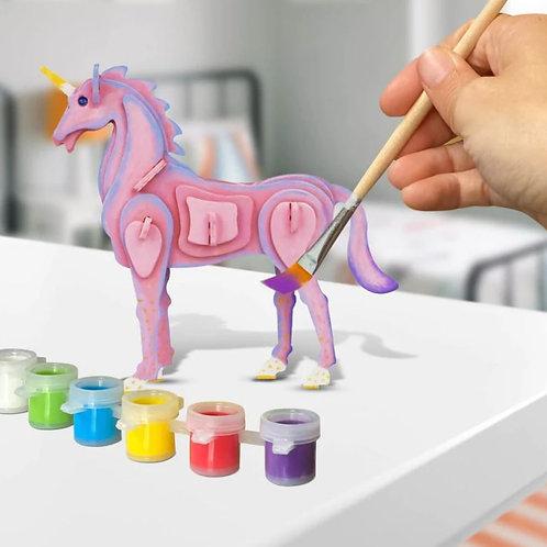 Unicorn 3D Puzzle
