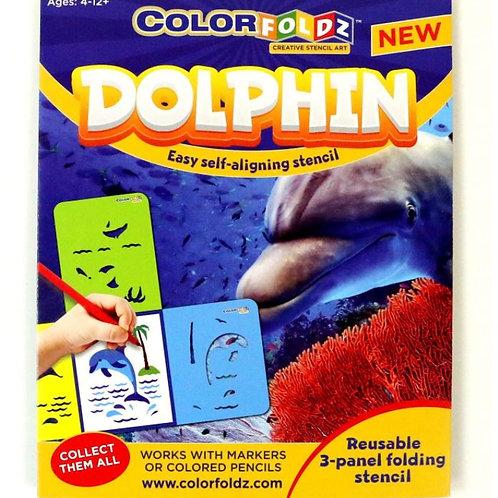 Dolphin Stencil Art