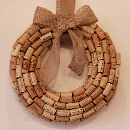 Cork Wreath- Small