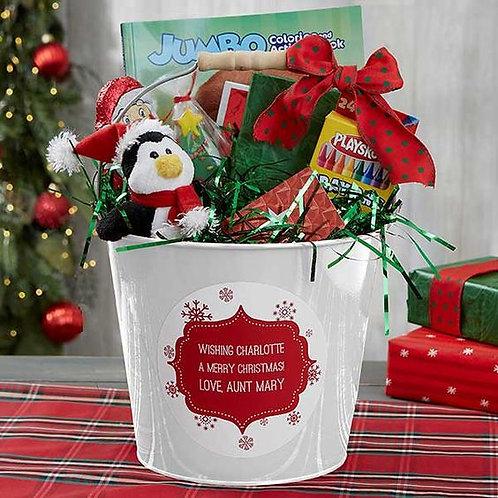 Kids Craft Gift Basket