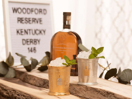 $1,000 mint julep honors 50th anniversary of first female jockey to ride in Kentucky Derby.