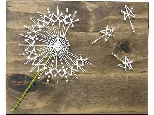 Dandelion String Art Mini