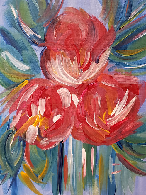 Wispy Flowers