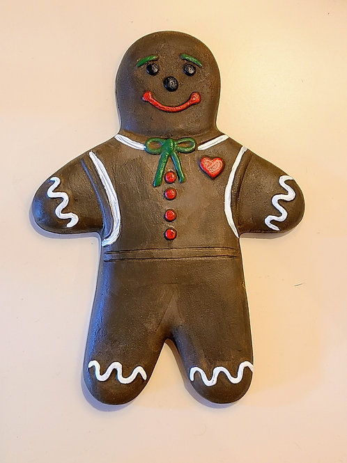 Gingerbread Man Wall Plaque
