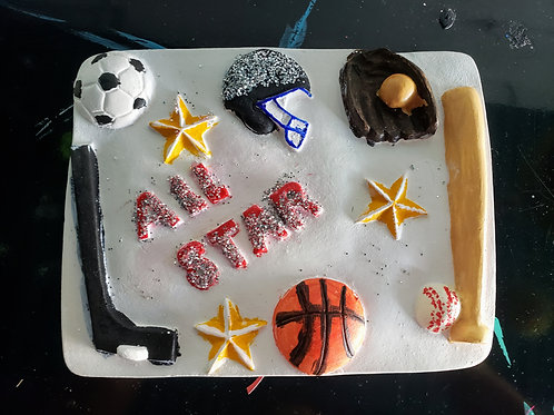 All Star- Wall Plaque