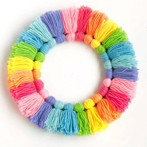 Tassle Wreath